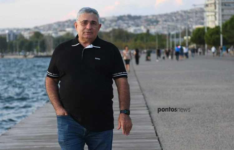 Βαλέριος Ασλανίδης: Στην ψυχή του τα γαλανόλευκα της ελληνικής σημαίας και ο αετός του Πόντου