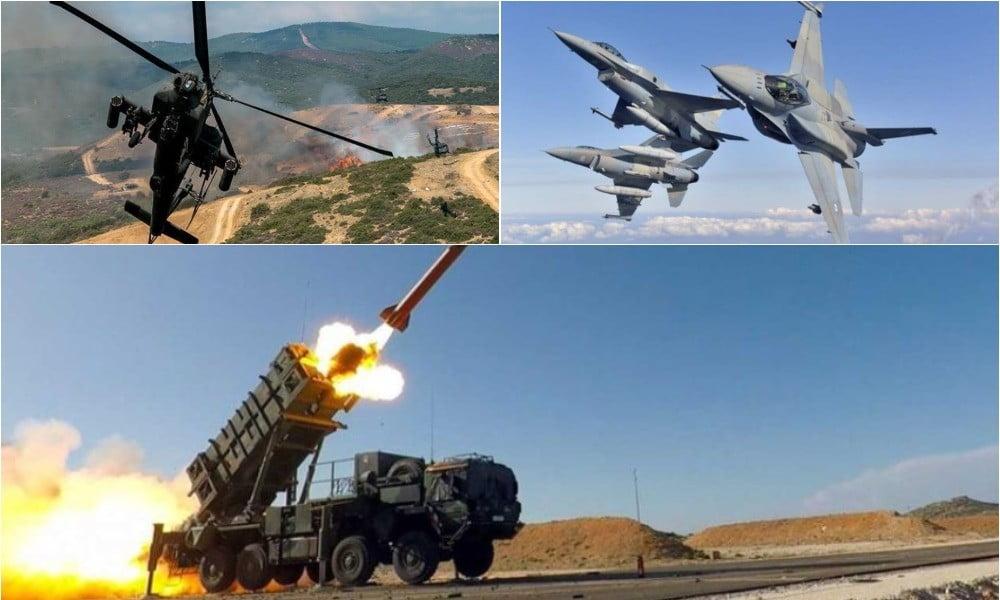 Οι Patriot χτίζουν «γέφυρα» με το Ριάντ: «Απογείωση» με την αναβάθμιση των F-16 Block 50 και των Απάτσι – Έρχονται νέες τορπίλες