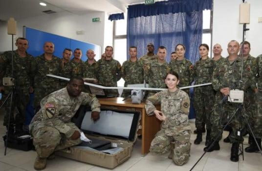Οι ΗΠΑ δώρισαν στην Αλβανία έξυπνα drone Puma