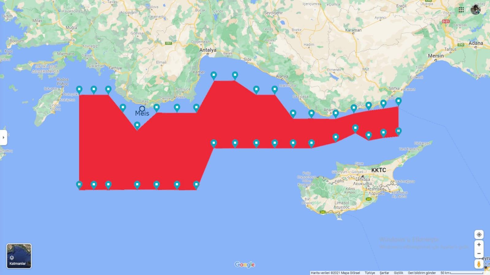 Η Τουρκία κλείνει με NAVTEX την Αν. Μεσόγειο