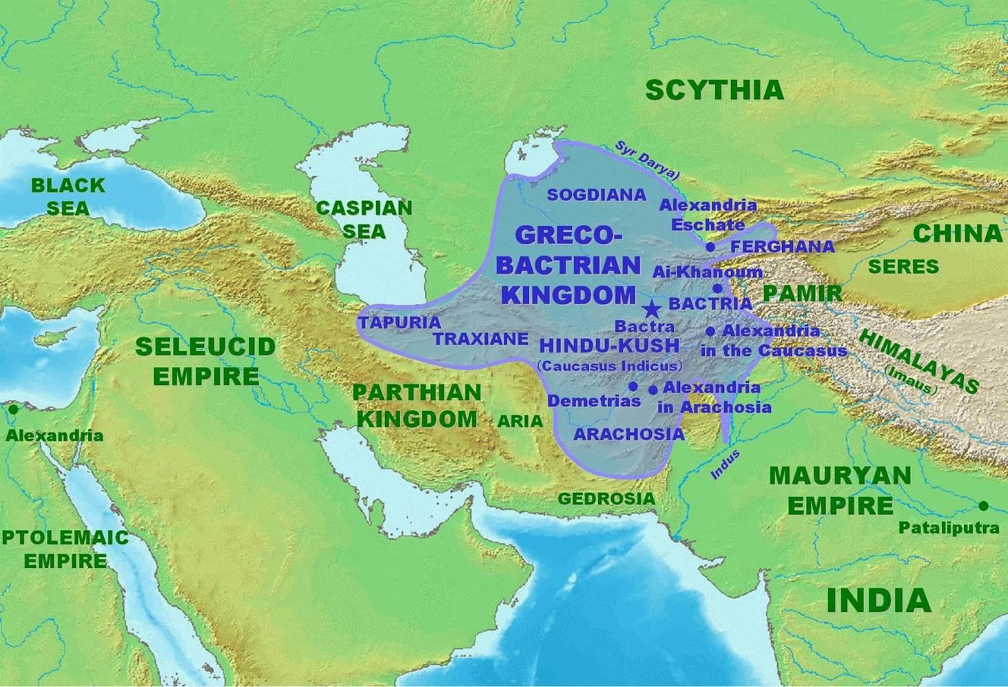 Βακτριανή: Το αρχαίο Ελληνικό κράτος στο Αφγανιστάν