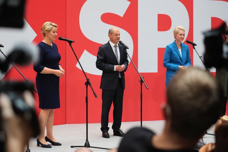 Όλαφ Σολτς: Θέλω μια αυτόνομη και κυρίαρχη Ευρώπη