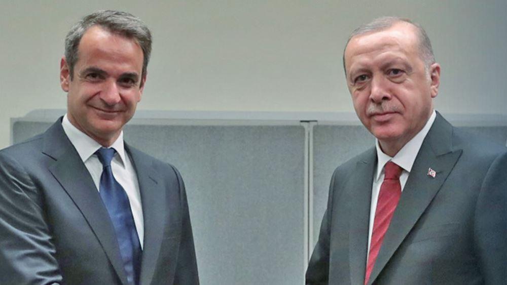 Τι θα κρίνει μία ενδεχόμενη συνάντηση Μητσοτάκη-Ερντογάν στη Νέα Υόρκη