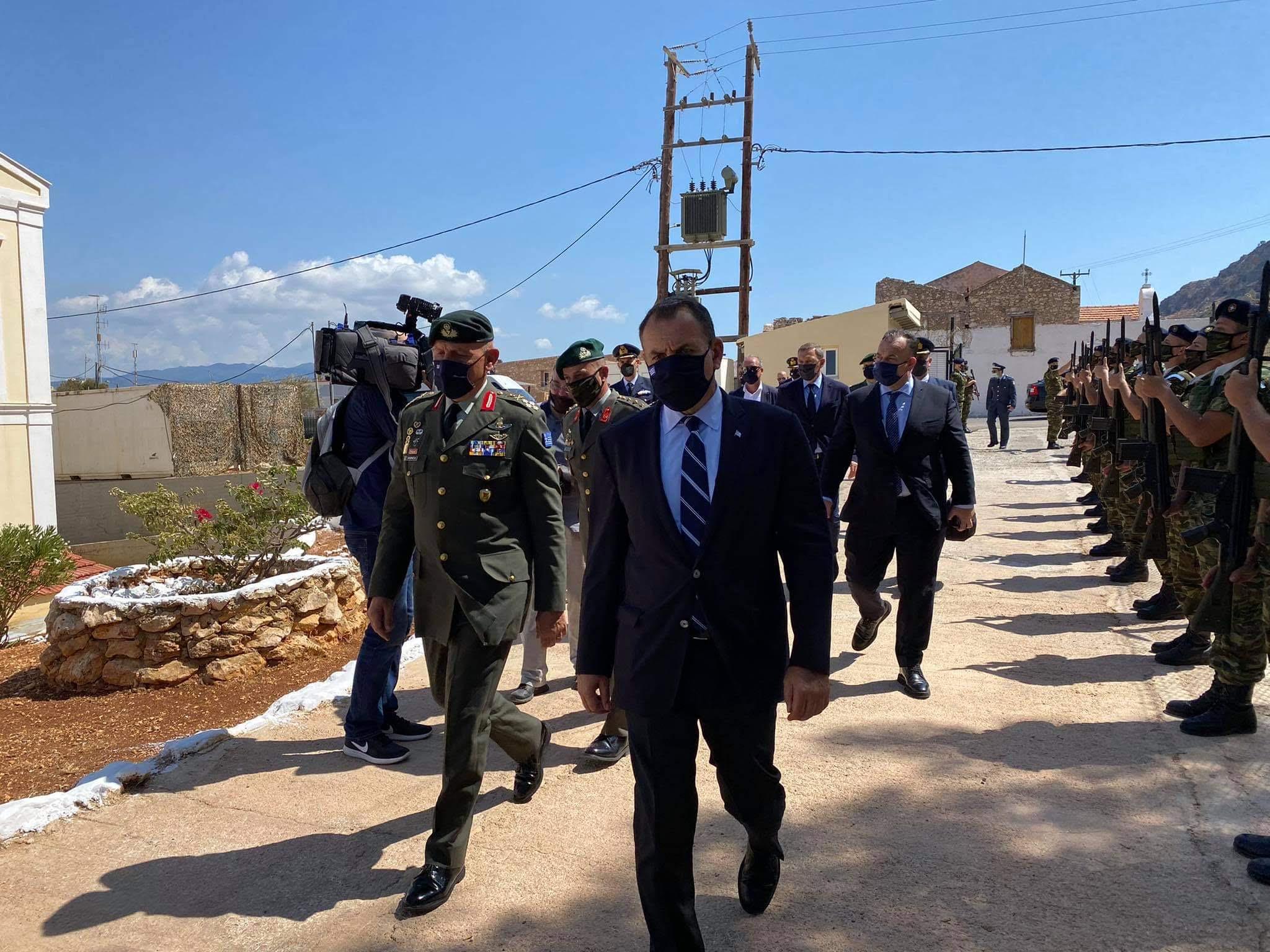 Παναγιωτόπουλος και Φλώρος στο «φρούριο» Καστελόριζο