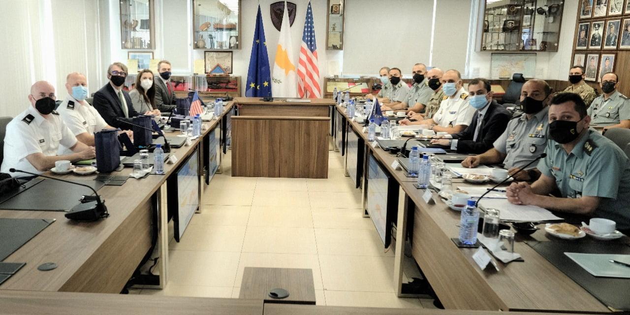 Διάλογος σε θέματα Άμυνας και Ασφάλειας μεταξύ των Υπουργείων Άμυνας της Κυπριακής Δημοκρατίας και των Ηνωμένων Πολιτειών Αμερικής