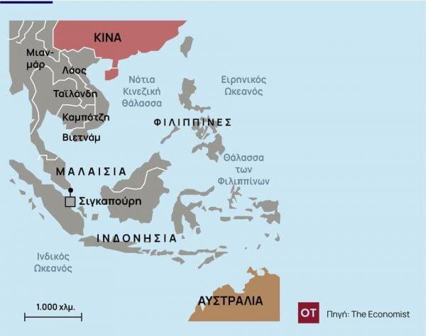 Economist : AUKUS – Μεγάλος και διαρκής ο στρατηγικός απόηχος της συμφωνίας