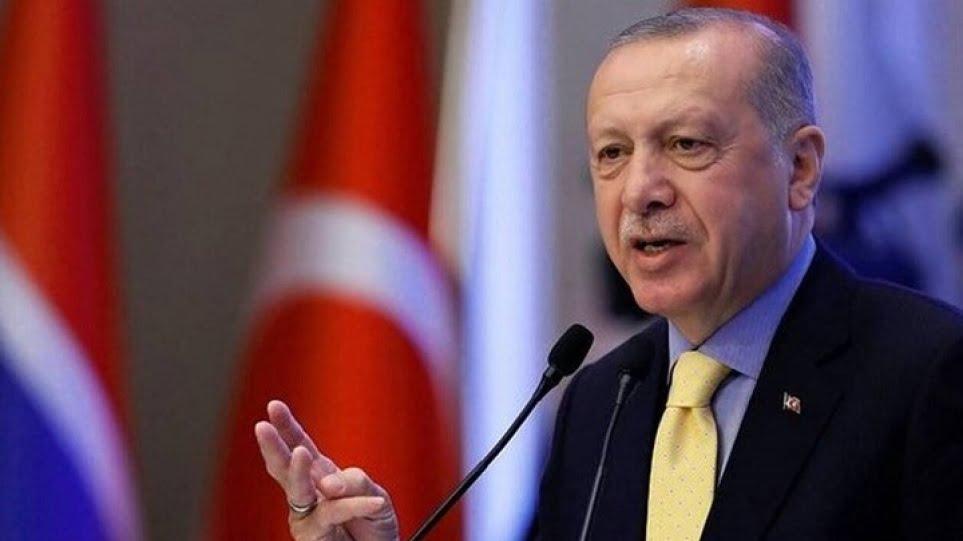 Τον χαβά του ο Ερντογάν στον ΟΗΕ: Να καθίσουμε σε ένα τραπέζι να… μοιράσουμε το Αιγαίο – Δύο κράτη στην Κύπρο