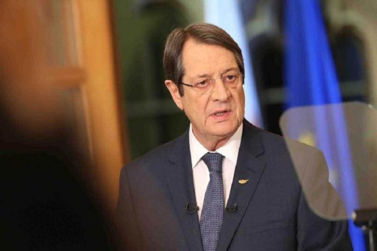 Καταγγελία Αναστασιάδη στον ΟΗΕ: Τελικός στόχος Τουρκίας η μετατροπή της Κύπρου σε προτεκτοράτο
