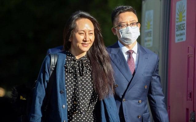 Καναδάς-Κίνα: Ελεύθερη η οικονομική διευθύντρια της Huawei και δύο Καναδοί «κατάσκοποι»