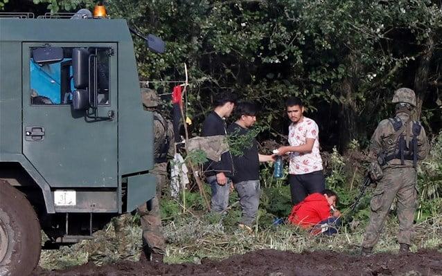 Ο «υβριδικός πόλεμος» στα σύνορα της Πολωνίας με τη Λευκορωσία