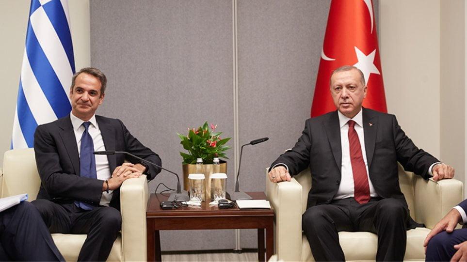 Διαψεύδει τη φημολογούμενη συνάντηση με Ερντογάν ο Μητσοτάκης