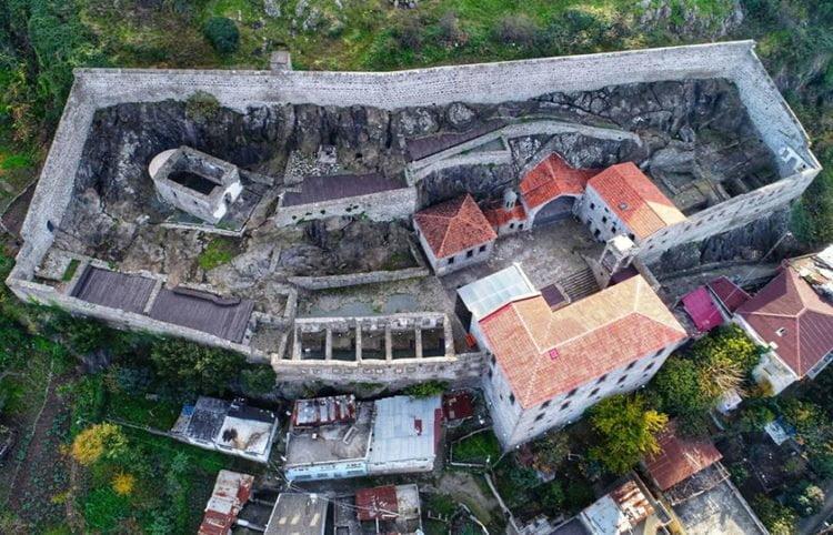 Αναστηλώθηκε η Μονή Θεοσκεπάστου στην Τραπεζούντα