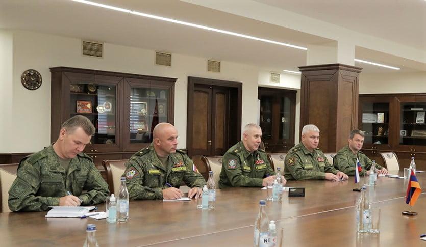 Παρουσιάστηκε ο νέος διοικητής των ρωσικών ειρηνευτικών δυνάμεων στο Ναγκόρνο Καραμπάχ