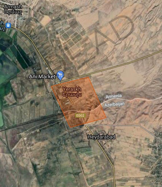 Νεκρός Αρμένιος στρατιώτης από πυρά των ενόπλων δυνάμεων του Αζερμπαϊτζάν!