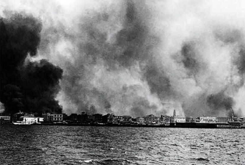 Τη φωτιά στη Σμύρνη έβαλαν Tούρκοι στρατιώτες με προμελετημένο σχεδιασμό