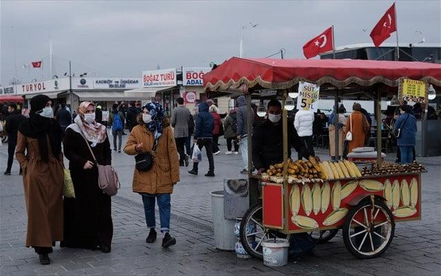 Τουρκία: Σε νέο υψηλό διετίας ο πληθωρισμός